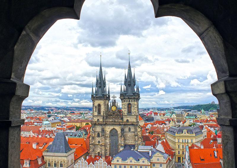 1 4 - Средневековая Прага и её подземелья