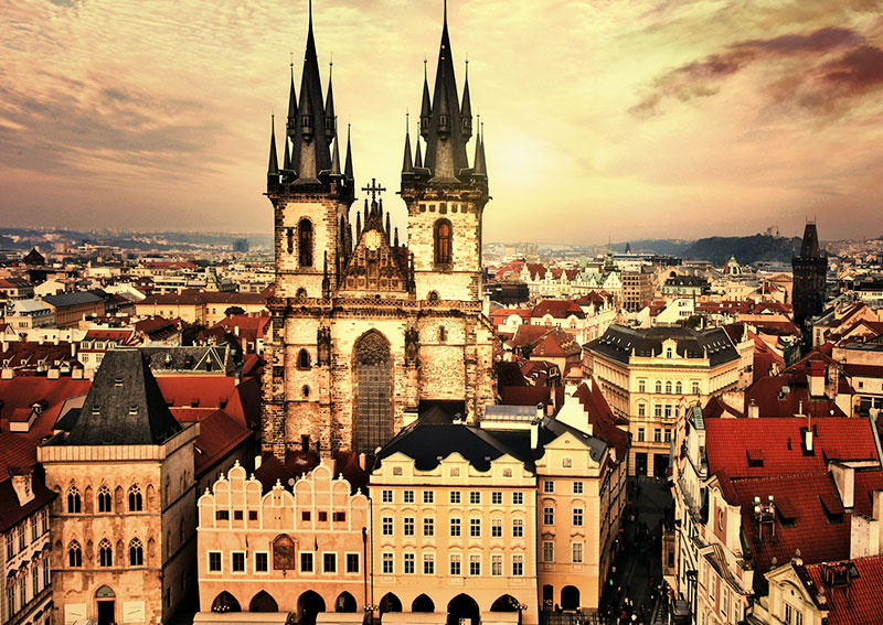 1 5 - Средневековая Прага и её подземелья
