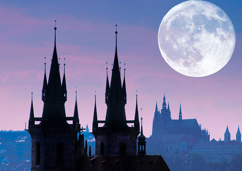 6 5 - Мистическая Прага с привидениями
