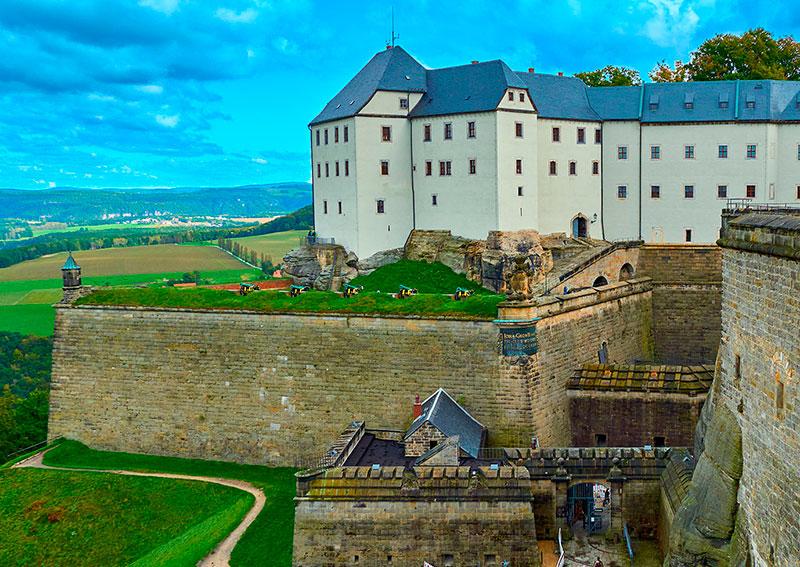 q 1 - «Саксонская Швейцария» + Кёнигштайн (Германия)