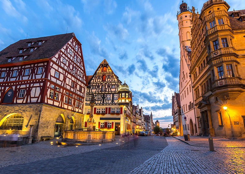 r 1 - Excursion to Rothenburg on Tauber (Germany)